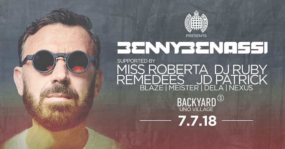 Ministry of Sound Malta presents Benny Benassi