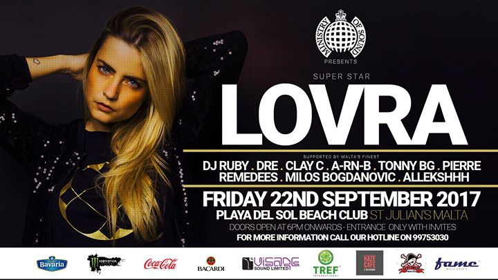Ministry of Sound presents LOVRA