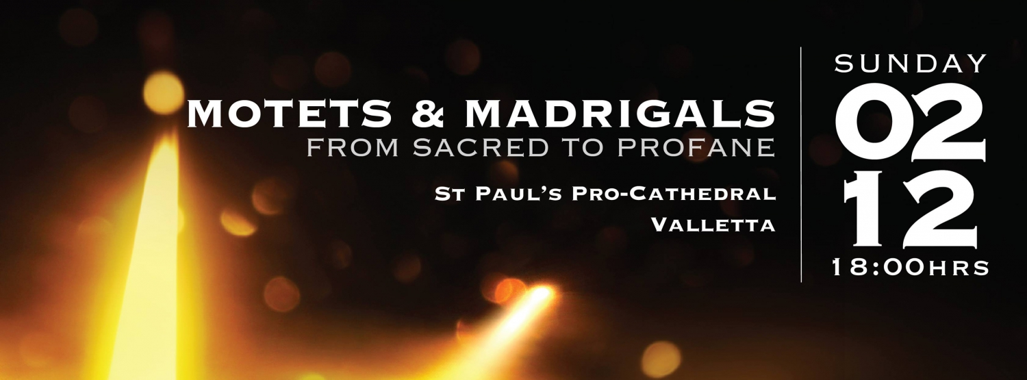 Motets & Madrigals - from Sacred to Profane