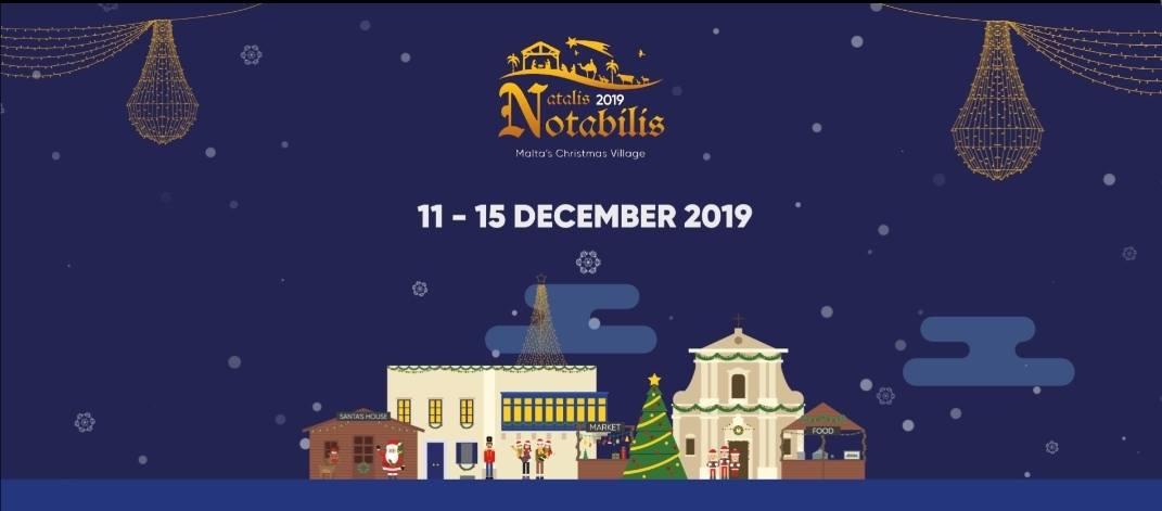 Natalis Notabilis 2018 - Malta's Christmas Village