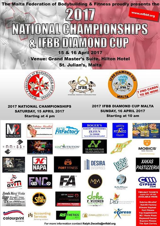 National Bodybuilding & Fitness Championships & IFBB Diamond Cup