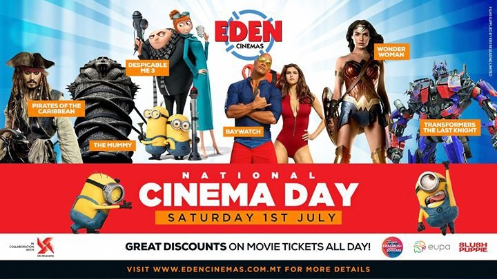 National Cinema Day at Eden Cinemas