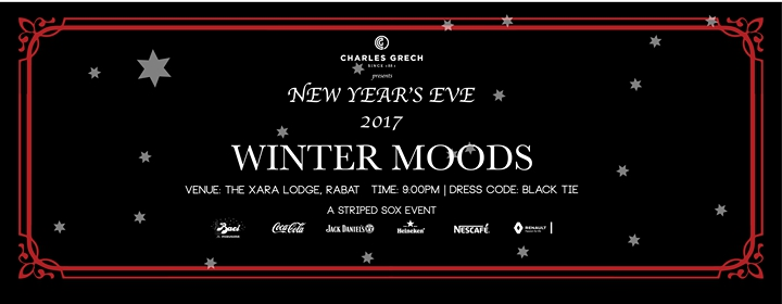 New Year's Eve 2017 with Winter Moods