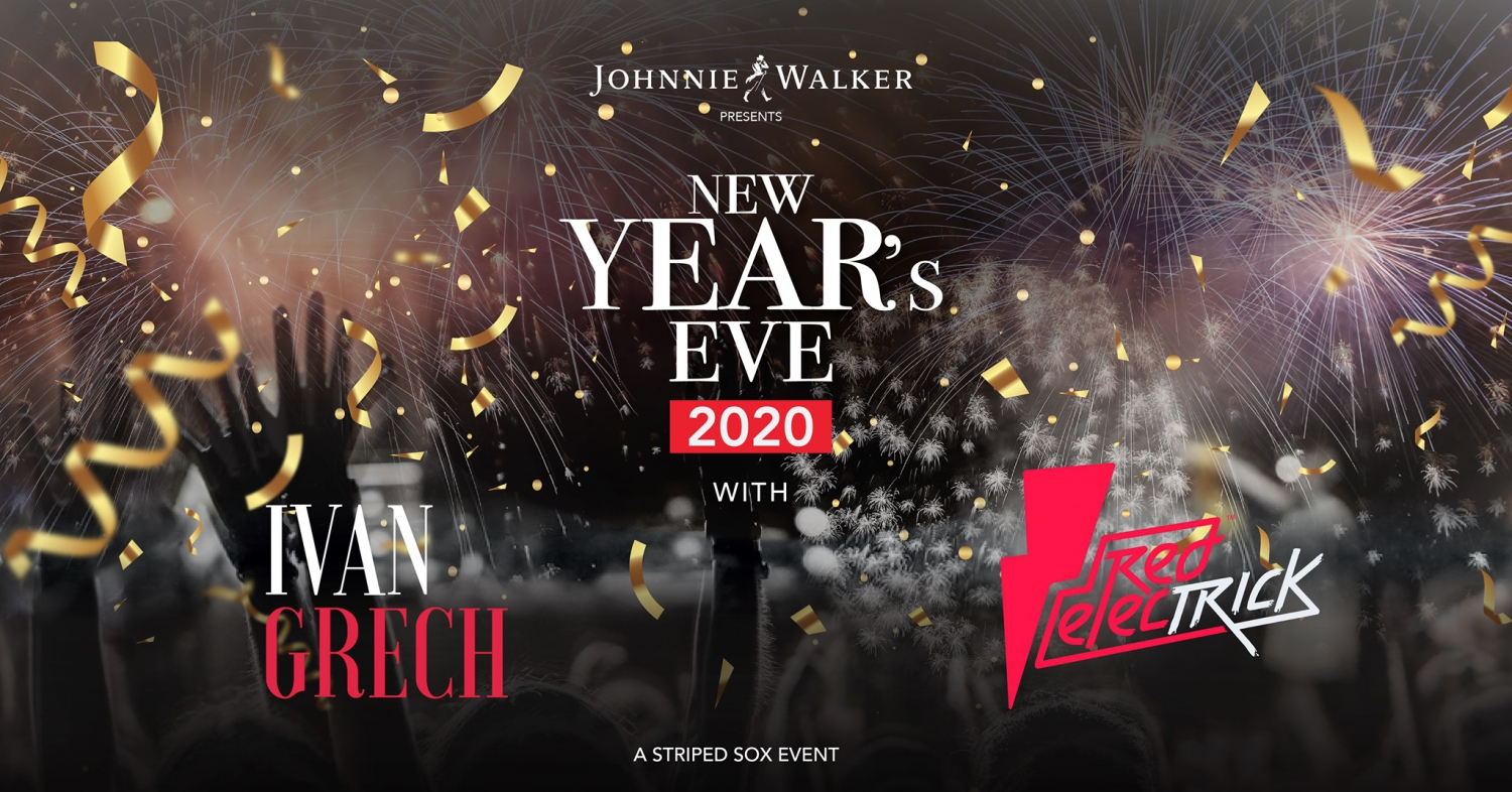 New Year's Eve 2020 with Ivan Grech & Red Electrick