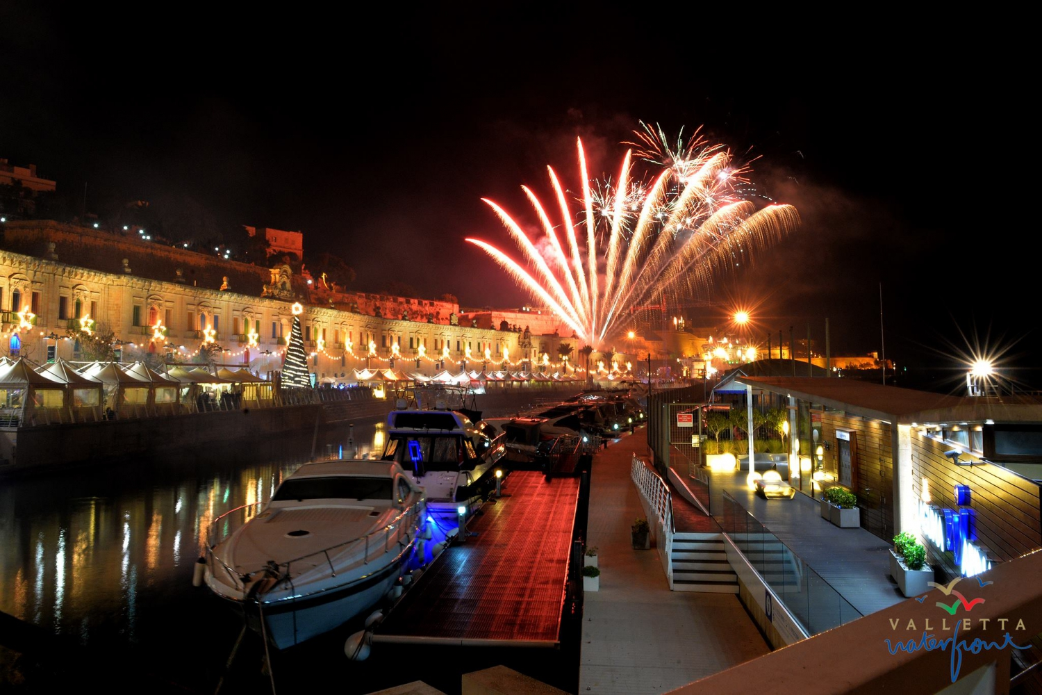 New Year's Eve at Valletta Waterfront