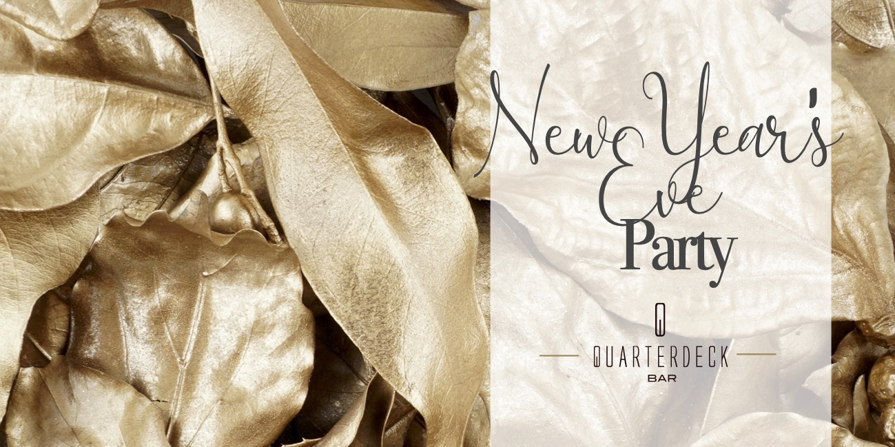New Year's Eve Party at Quarterdeck Bar