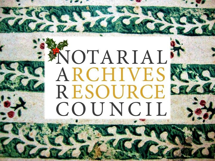 Notarial Archives at Natalis Notabilis 2017