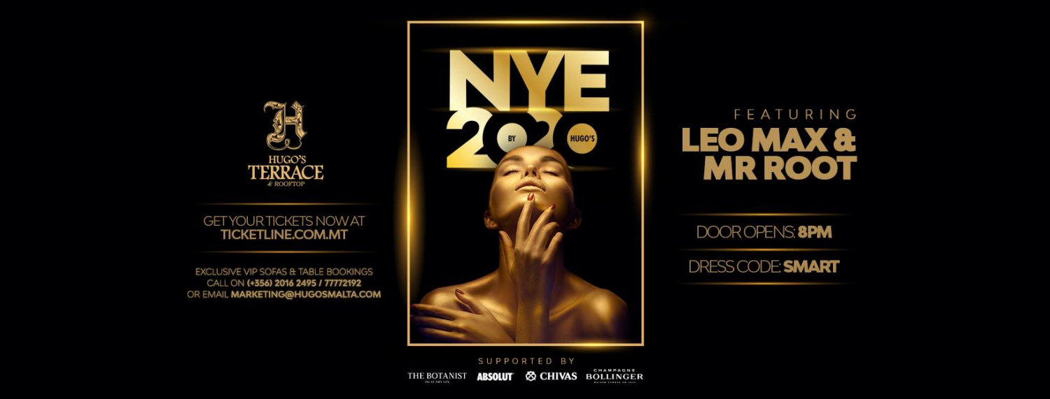 NYE2020 at Hugos Terrace