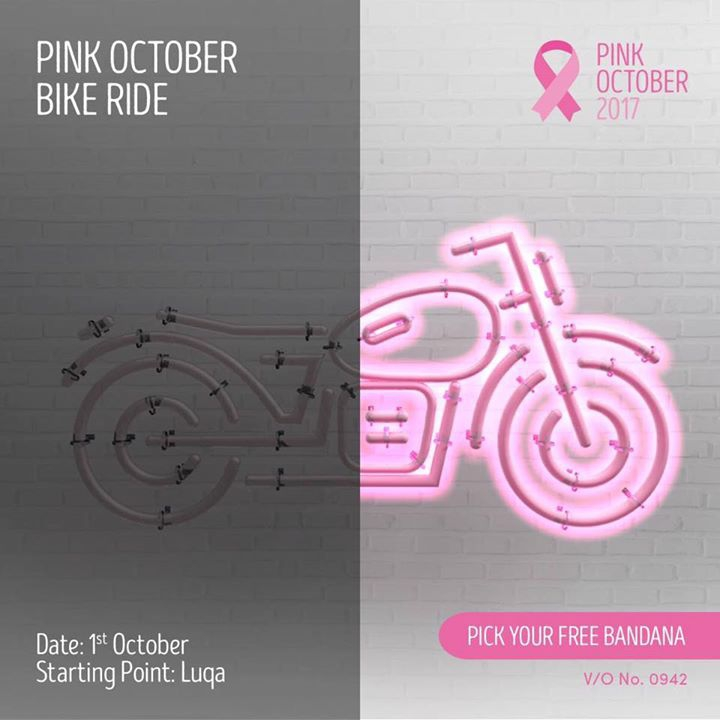 Pink October Bike Ride 2017