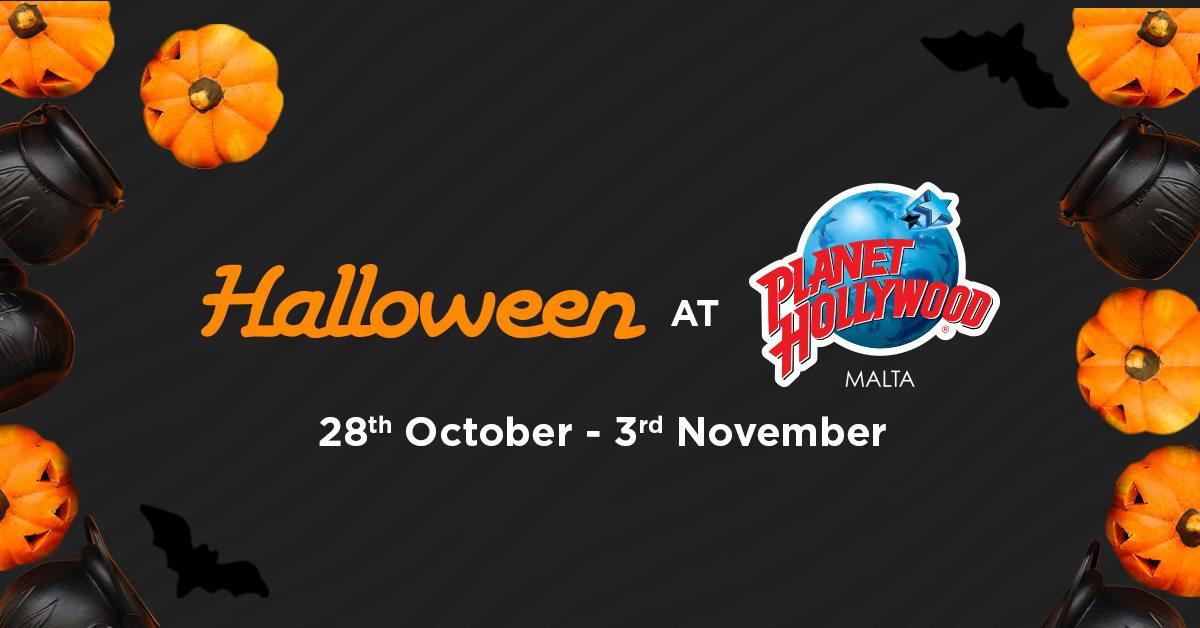 Planet Hollywood Halloween week