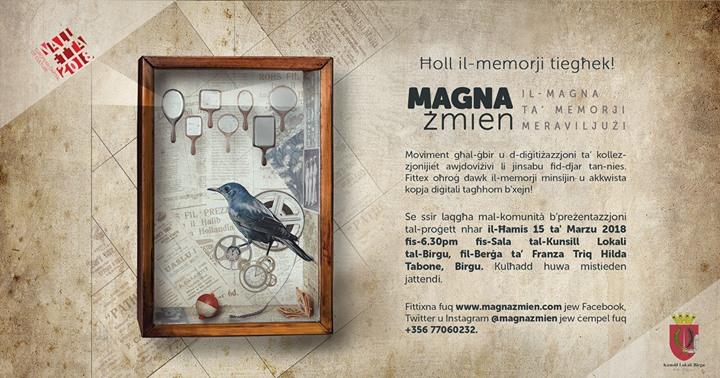 Presenting Magna Żmien in Birgu