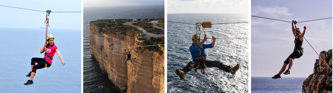 Ride Malta's Craziest Zipline!