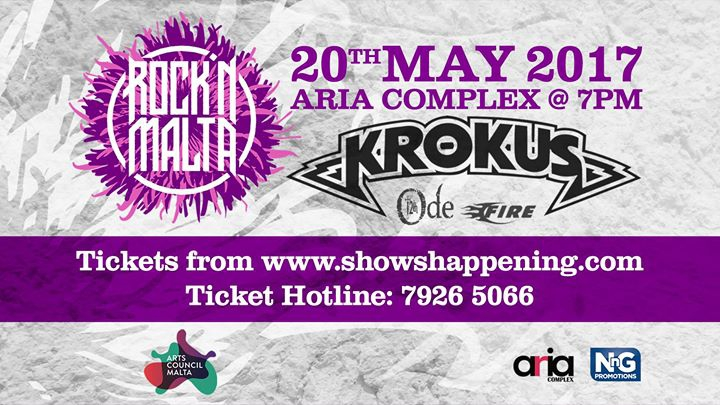 Rock 'N Malta present: Krokus