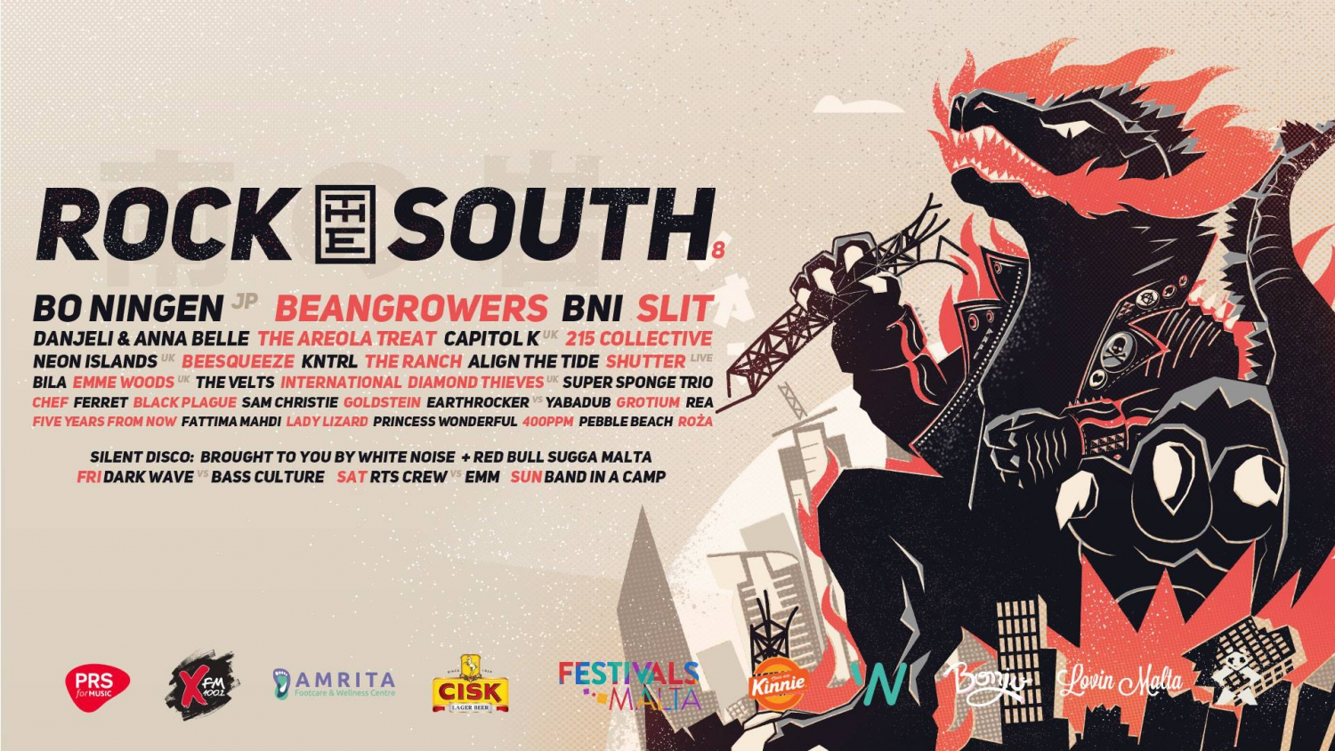 Rock The South 2019