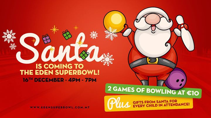 Santa is coming to the Eden SuperBowl