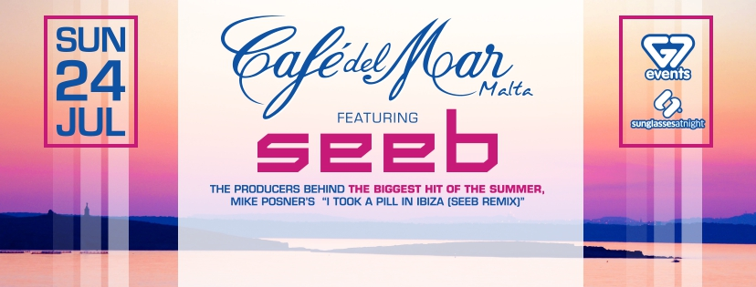 SEEB at Café del Mar – Sunset Special 24/07/16