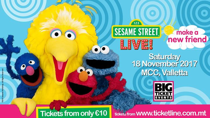 Sesame Street Live: Make A New Friend - Malta 2017