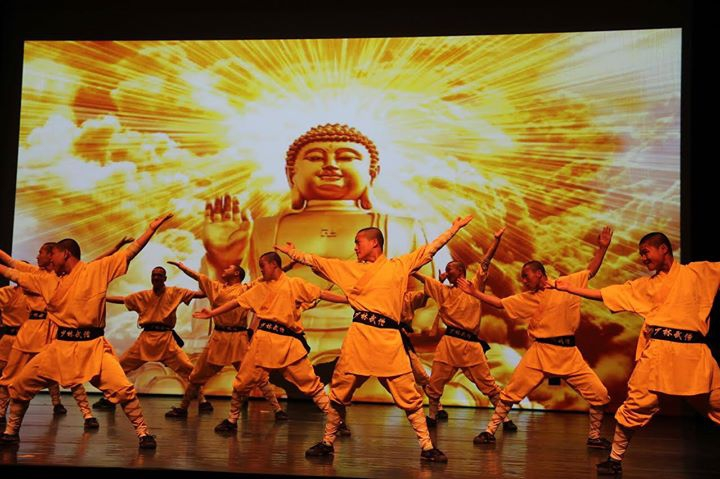 Shaolin Monks Martial Arts Display