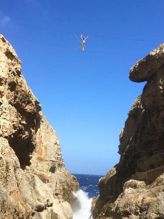 Sky Walk at Gozo - Wied Il-Mielah