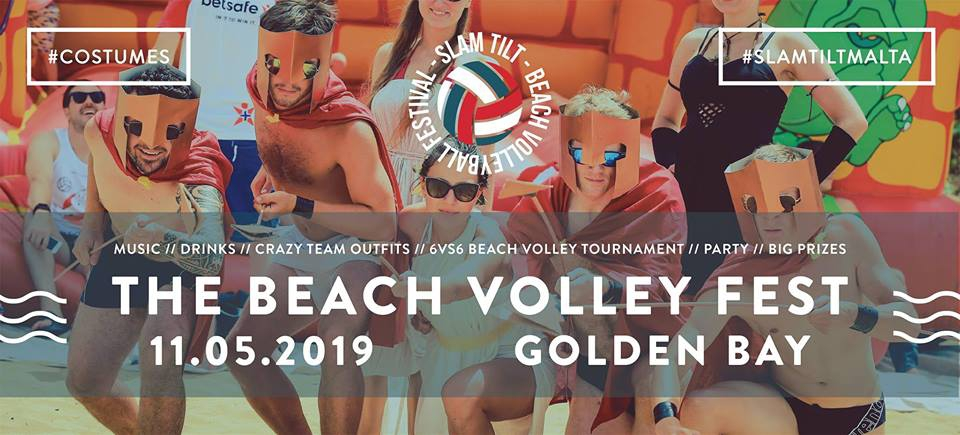 Slam Tilt - The Beach Volley Fest 2019