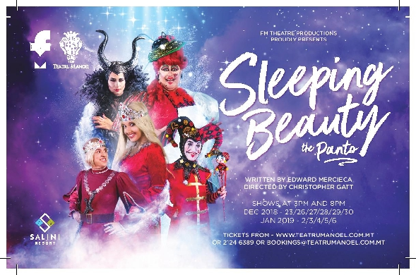 Sleeping Beauty – the Panto at Teatru Manoel