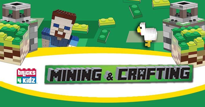 SmartCity Bricks 4 Kidz Camp - Mining and Crafting 3 day Camp