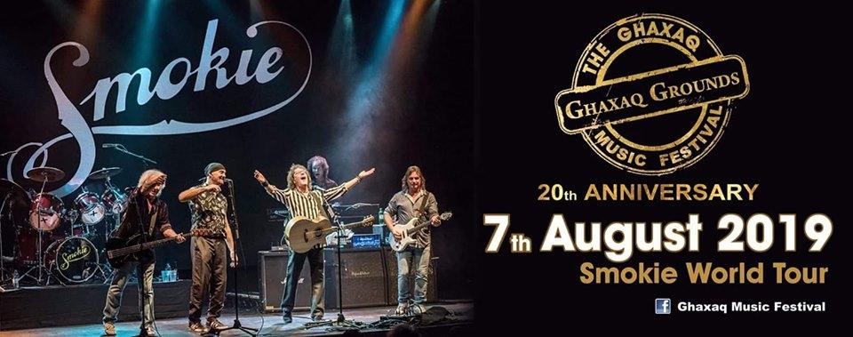 Smokie Live in Concert at Għaxaq Music Festival 2019