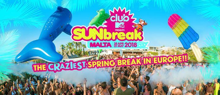 Sunbreak Malta Club MTV 2018