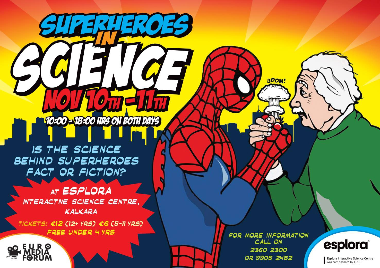 Superheroes in Science
