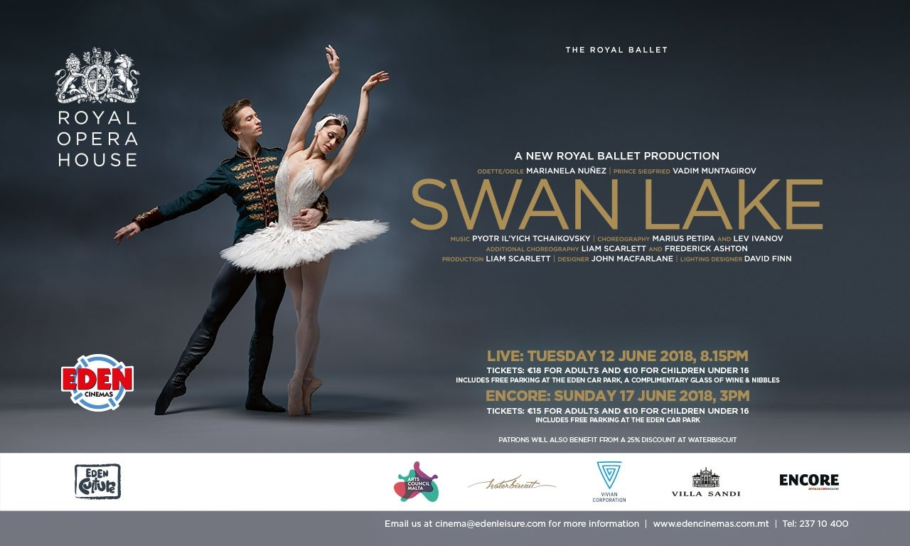 Swan Lake Live at Eden Cinemas