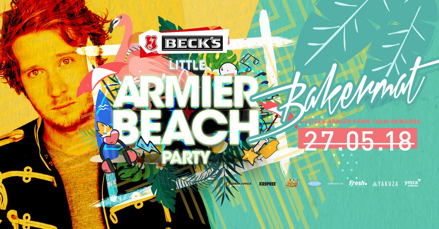 The Armier Beach Party '18 - 27.05.18