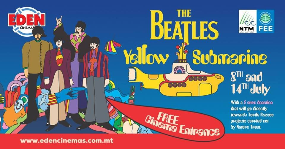 The Beatles- Yellow Submarine- Free Entrance