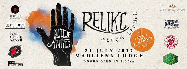 The Code Of Antics - Relikc's Album Launch