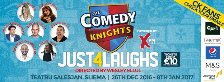 The Comedy Knights: Just 4 Laughs