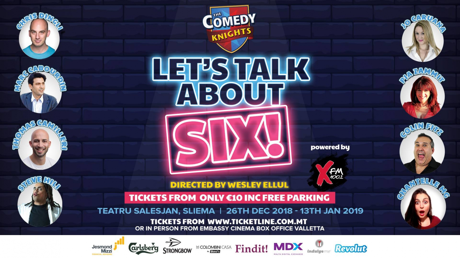 The Comedy Knights: Let's Talk About SIX!