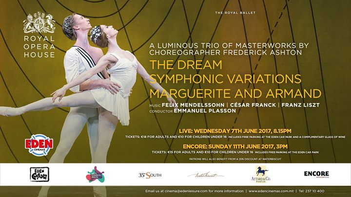 The Dream/ Symphonic Variations/Marguerite and Armand