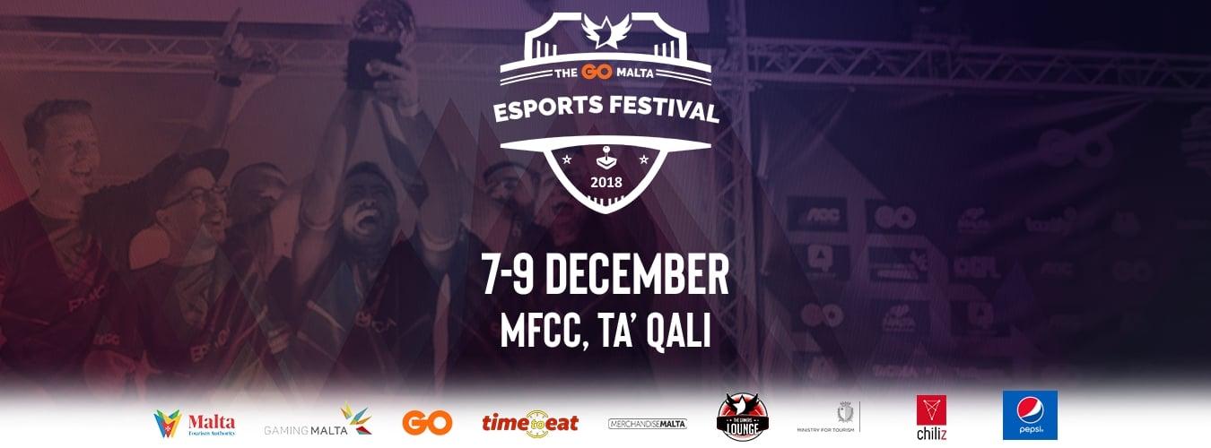 The GO Malta Esports Festival 2018