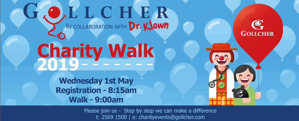 The Gollcher Charity Walk 2019 - In aid of Dr. Klown