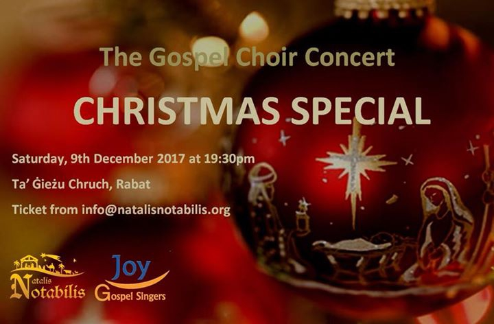 The Gospel Choir Concert - Christmas Special