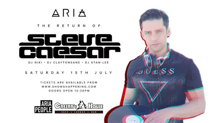 The Return of Steve Caesar at Aria
