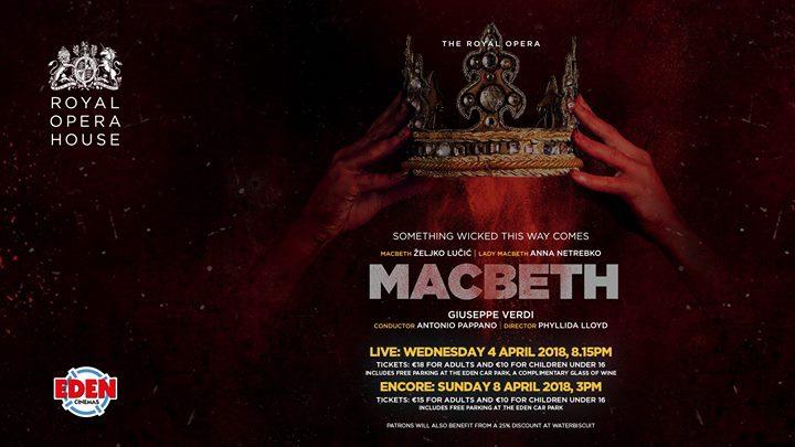 The Royal Opera presents Macbeth