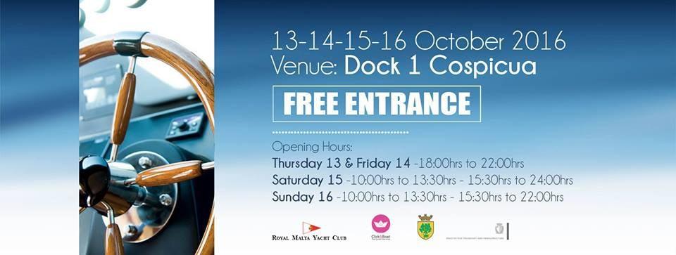 The Valletta Boat Show 2016 - Cospicua