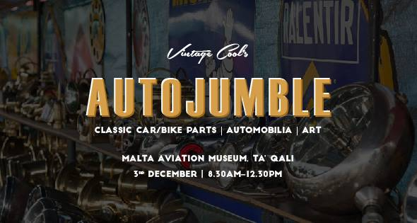 The Vintage Cool Autojumble - Parts/Automobilia/Art