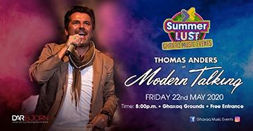 Thomas Anders of Modern Talking