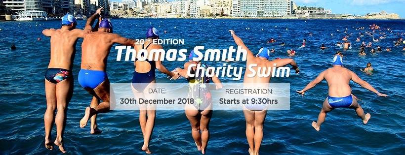 Thomas Smith Christmas Charity Swim