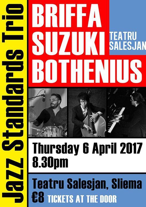 TS Jazz Sessions feat. The Briffa/Suzuki/Bothenius Jazz Trio