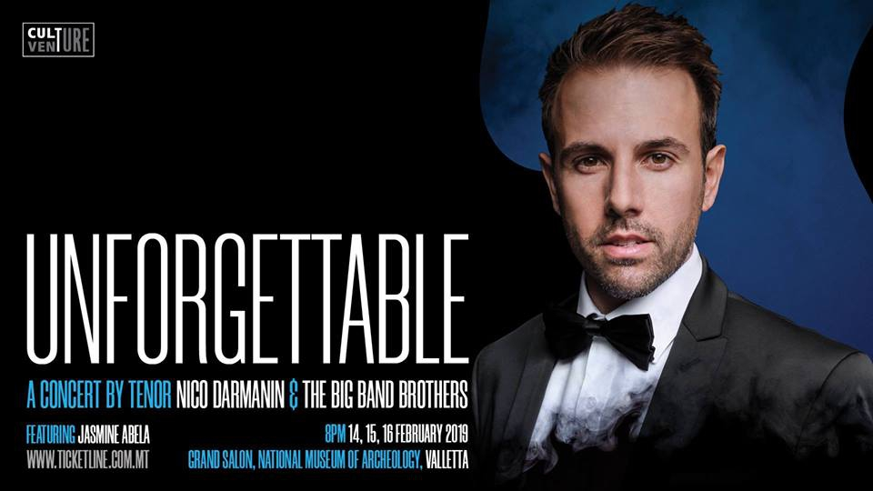 Unforgettable – A Concert by Nico Darmanin
