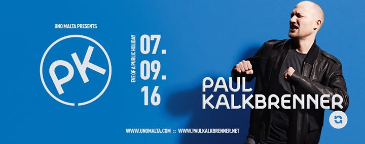 Uno presents Paul Kalkbrenner (Live) - 07.09.16