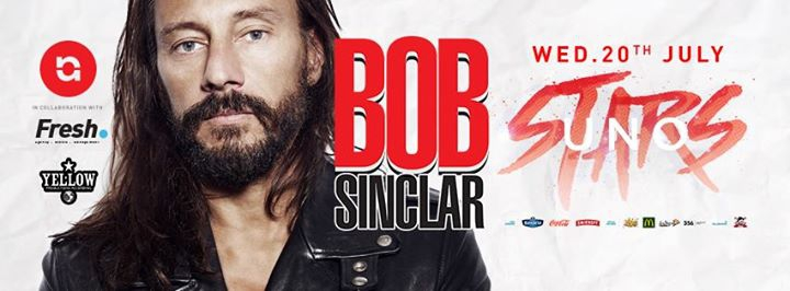 Uno Stars presents Bob Sinclar - 20.07.16
