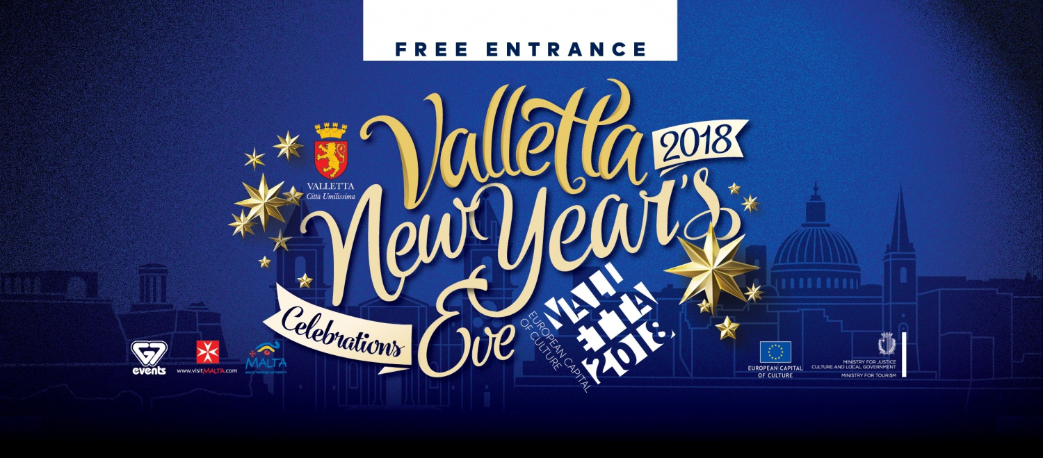 Valletta New Year's Eve Celebrations